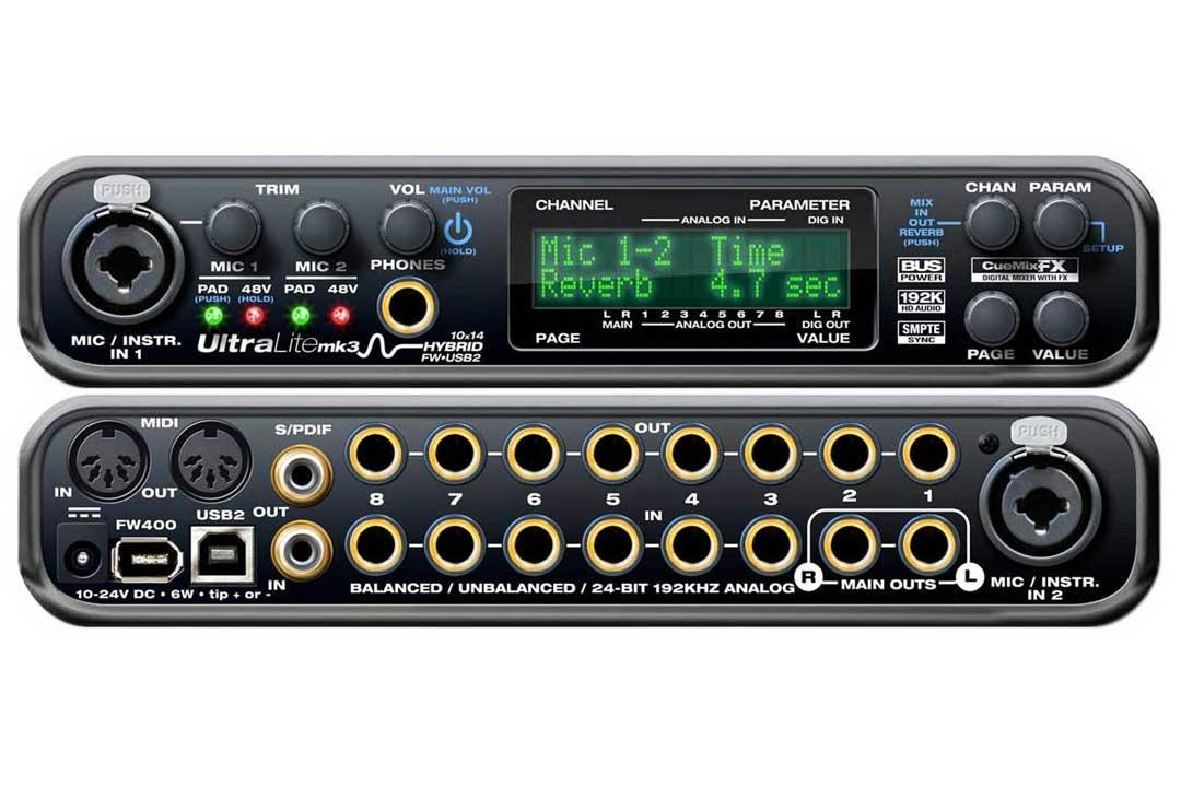 Motu Ultralite Hybrid mk3