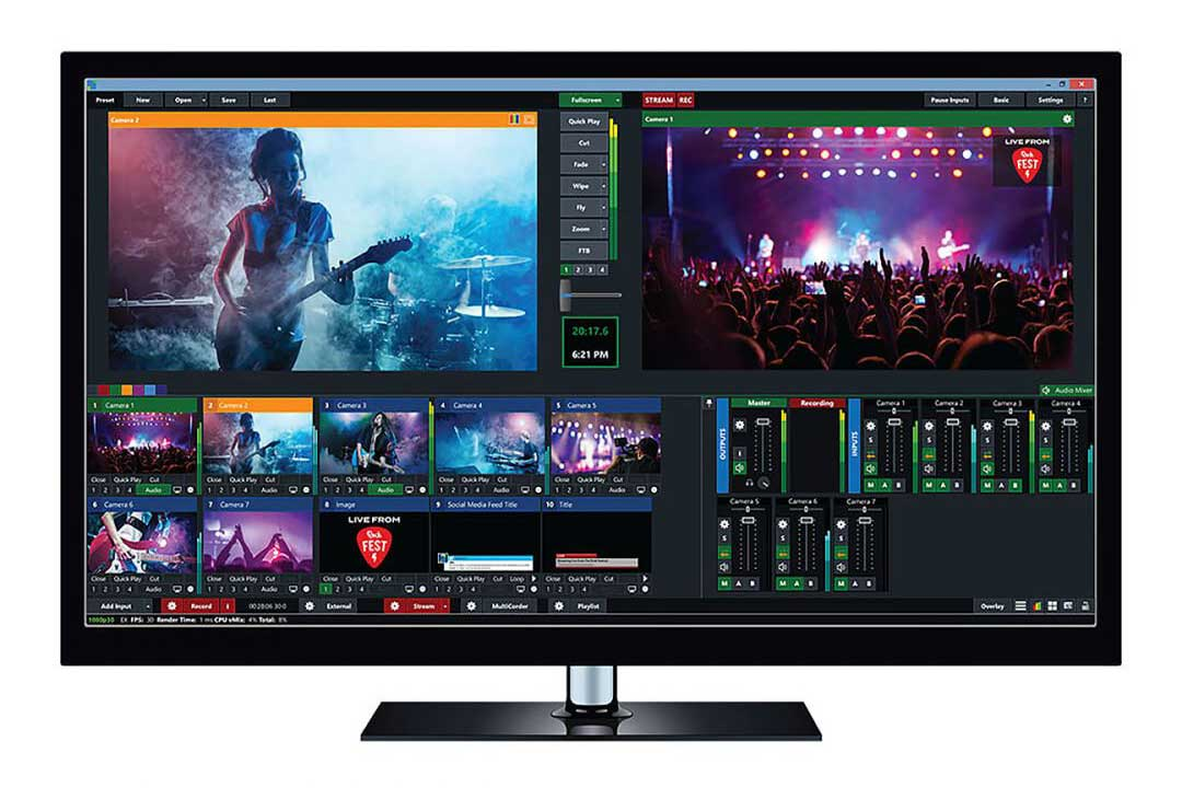 vMix Live Production & Streaming Software